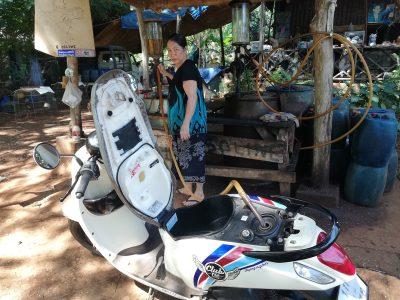 motorbike-rent-koh-mak-gasoline-station